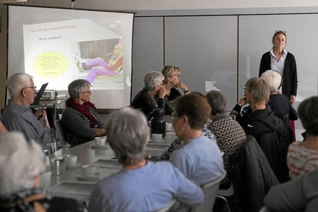 Onsdag var der inviteret til informationsmøde i Gandrup Hallen. Foto: Allan Mortensen Allan Mortensen