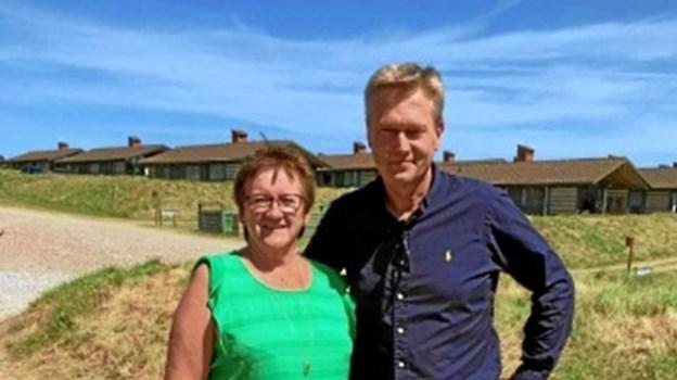 Onsdag var Generalsekretær Klaus Nørlem fra Dansk Folkehjælp på besøg i feriecentret og mødte feriedeltagerne.