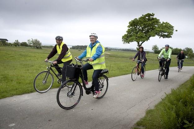 Sidste år blev der givet en portion penge fra Friluftsrådet til en cykelrute mellem Vilsund og Doverodde.Arkivfoto