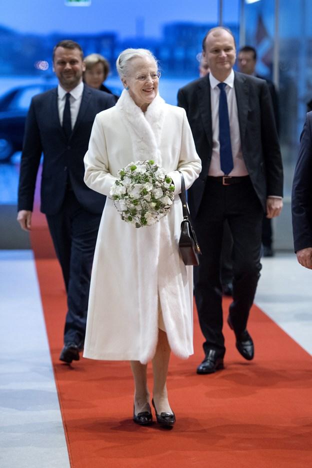 """Dronning Margrethe deltager i det nordiske  jubilæums gallashow """"Dejlig er Norden"""" i DRs koncerthus, og som transmitteres i tv"""