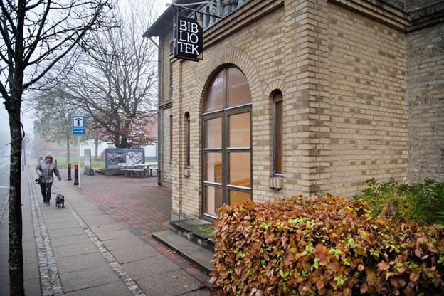 Der er kreativt værksted på Dronninglund Bibliotek onsdag 20. februar.Arkivfoto: Hans Ravn