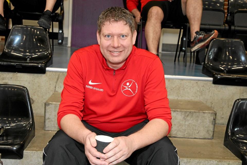Formand Søren Nygaard er glad for klubbens positive udvikling.