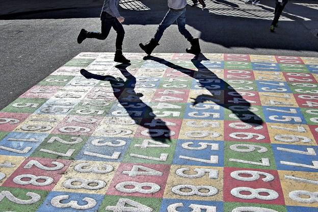 På mandag er det første dag i det nye skoleår i de danske folkeskoler. Det hidtil største it-projekt i kommunerne skal skabe bedre rammer for digital kommunikation mellem forældre og lærere, lærere og elever og lærerne imellem. Arkivfoto: Henning Bagger, Ritzau Scanpix