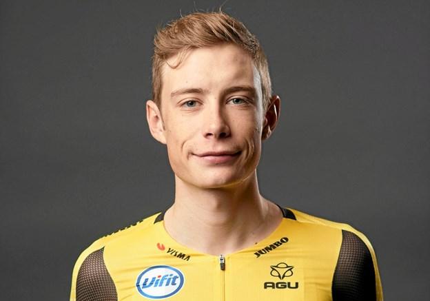 Jonas Vingegaard fra Hillerslev, debuterer som proff-rytter onsdag, til det spanske etapeløb Tour of Andalusia. Foto: Jumbo-Visma. Foto: Ole Iversen