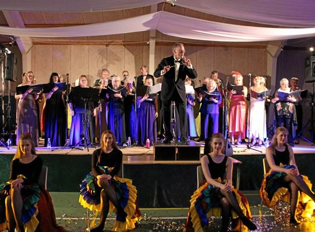Koncerten arrangeres af ?Als-Øster Hurup Kirkekor ?i samarbejde med ?Event Øster Hurup. ?Foto: Iben Brejner Højgaard.