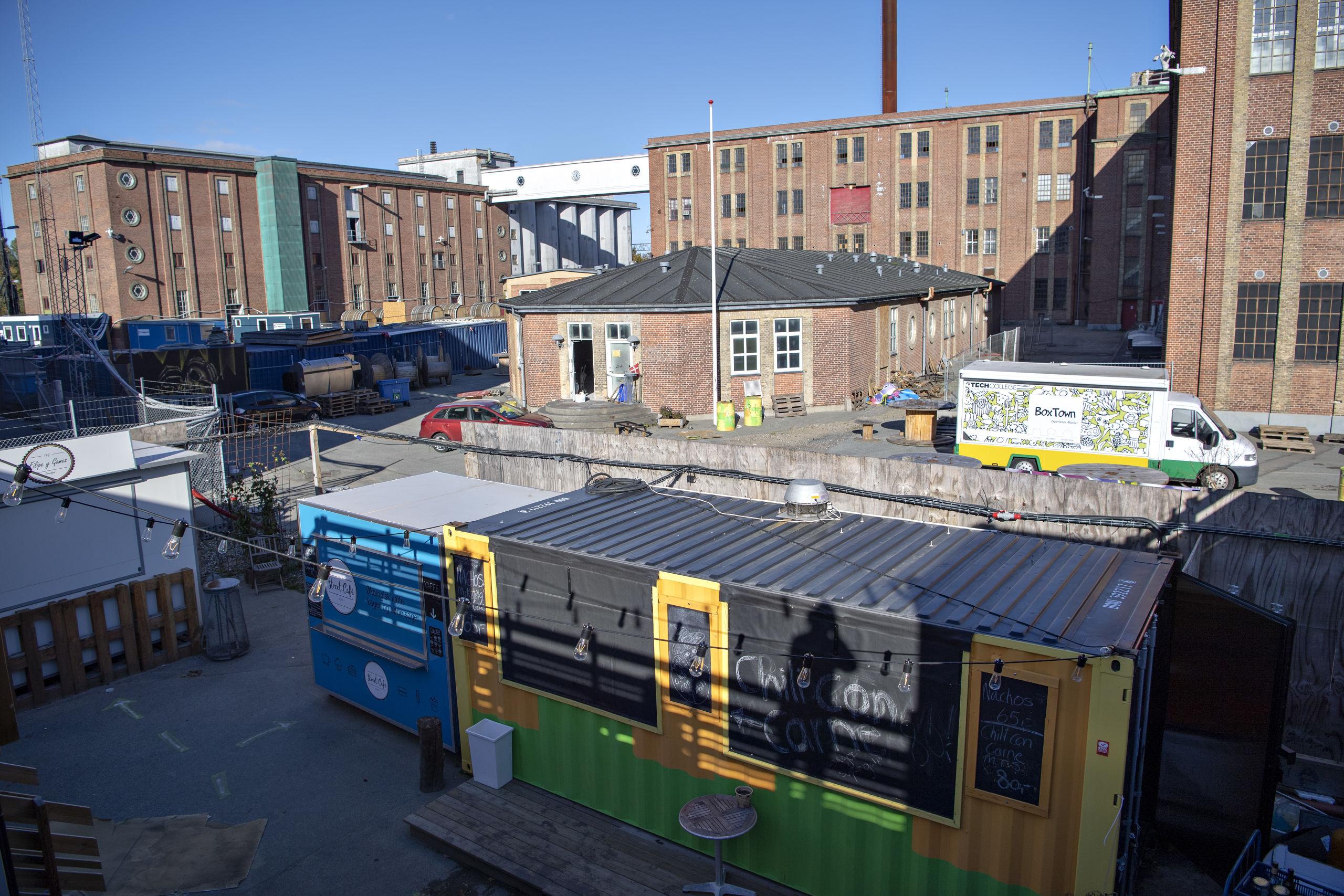 BoxTown er på et år gået fra at være et fødevaremarked til at være et kultursted. Arkivfoto: Kurt Bering