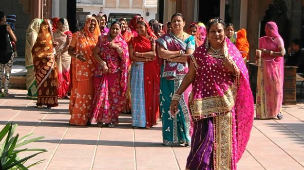 Hvad er myte og hvad er virkelighed om indiske kvinder? Det giver Poul Grønne Kristensen sit bud på i Studiekredsen på Hobro Bibliotek 1. april. Privatfoto