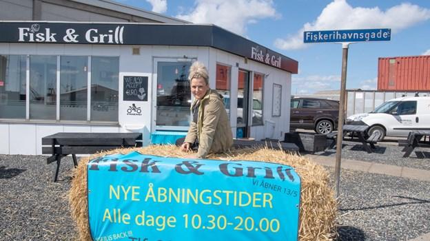 Allerede fra næste uge er åbningstiden udvidet til 20.00. Foto: Henrik Louis HENRIK LOUIS