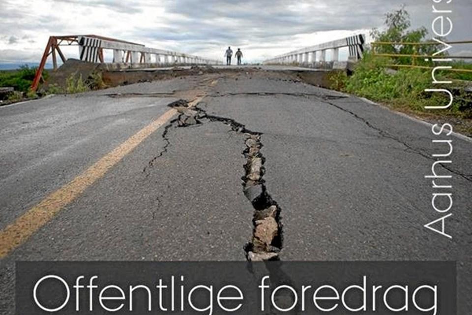 Det handler om naturkatastrofer i Hobro og Oue tirsdag 19. marts klokken 19.