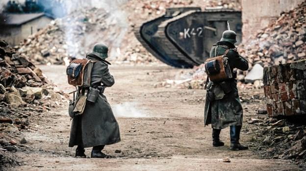 Den danske film I Krig og Kærlighed vises i Pandrup Kino.Pressefoto