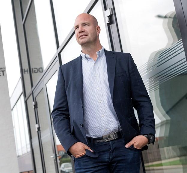 Direktør Claus Nørgaard Poulsen håber på at kunne udvide DGI Huset med en ekstra hal. Arkivfoto: Torben Hansen