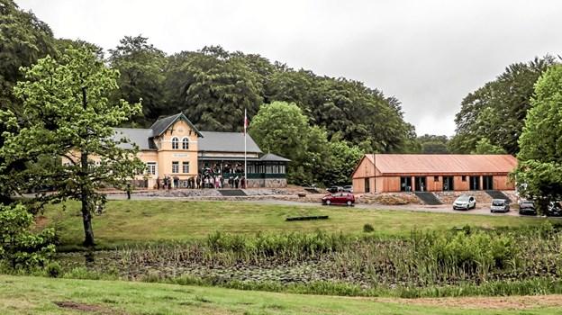 Pinsemorgen i Tolne Skovpavillion. Foto: Peter Jørgensen