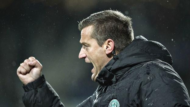Johnny Mølby er ny træner i Vendsyssel - her fra tiden som chef i Viborg.