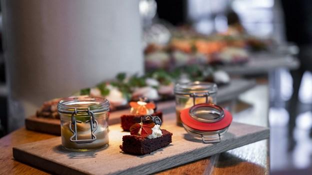 Caféministeriet har blandt andet succes med deres minismørrebrød. Foto: Lasse Sand