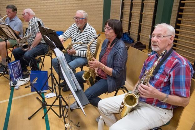 Brønderslev Harmoniorkester fylder 70 år. Foto: Henrik Louis