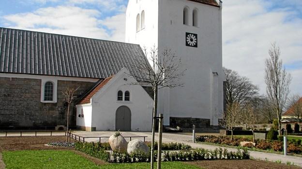 Vrå Kirke Arkivfoto.