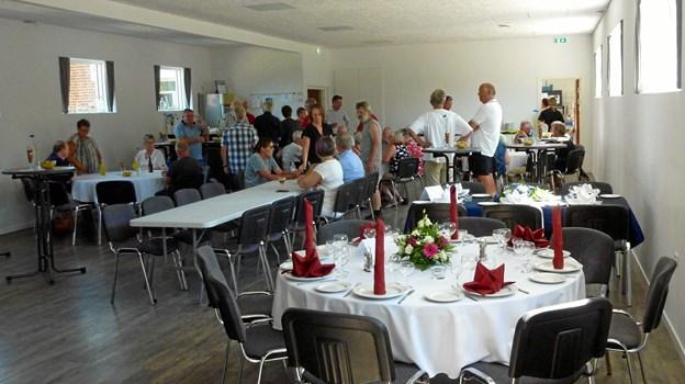 8. juni i år blev det totalt renoverede forsamlingshus i Sørup officielt genindviet. Arkivfoto