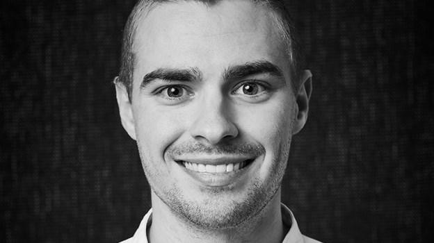 Christopher M. Kristensen fra Restaurant Bühlmann håber på at få titlen som Årets Kok. Foto: Claes Bech-Poulsen