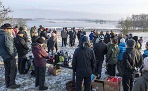 Naturfredningsforening bed fra sig i kulden