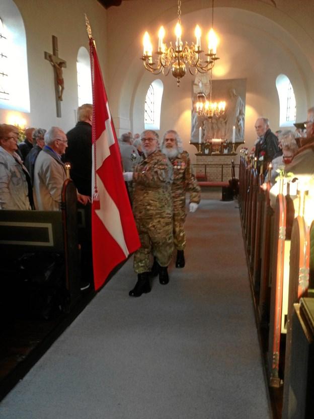 Cirka 80 kirkegængere deltog. Privatfoto