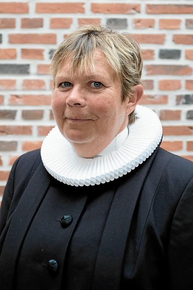 Eva Aarestrup Christophersen indsættes som sognepræst i det nye Storpastorat torsdag den 1. november klokken 17 i Lendum Kirke. Foto: Niels Helver
