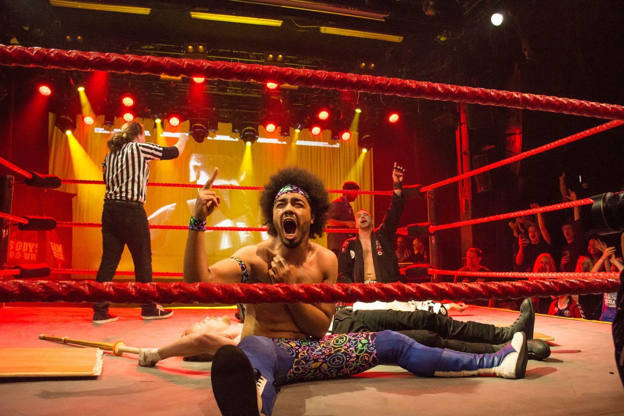 Aalborgs egen Matthew Burnett er også klar i ringen. Privatfoto: Christopher Thomsen
