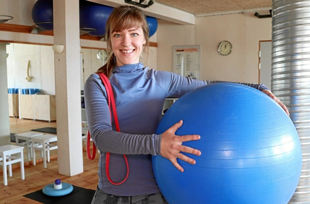 Carina Glinvad Andersen - glæder sig til at hjælpe med at få Hobros nye mødre i form, samt give vordende mødre den optimale fødselsforberedelse.  Privatfoto
