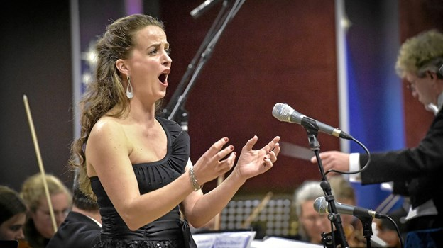 Sopran Charlotte Hjørringgaard Larsen, oprindeligt fra Nordjylland. Foto: Ole Iversen Ole Iversen