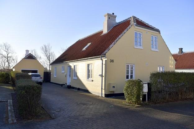 Ny præstebolig, Eratosvej  36. Her flytter Niels Berthelsen ind i februar. Foto: Bente Poder