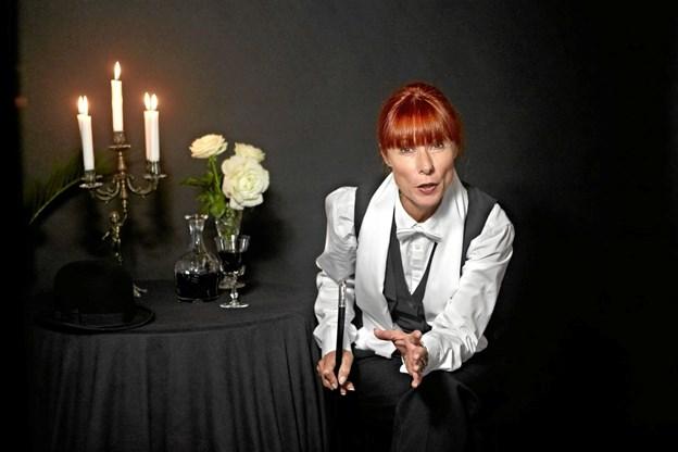Mød Inger Marie Madsen på Frederikshavn Bibliotek torsdag den 14. februar klokken 19.30.  Foto: Max Rosborg