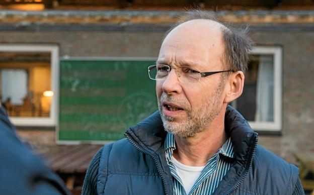 Niels Jørgen Sloth siger farvel til Vindblæs Friskole, som han har ledet i sammenlagt 14 år, og bliver efterlønner. Arkivfoto