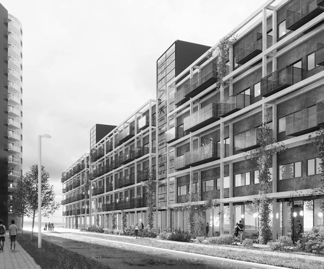 Mere plads til studerende: Aalborg får et nyt kollegium