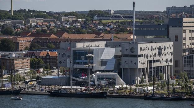 Fredag brød solen for alvor frem - det fik tusinder til at søge mod havnefronten. Foto: Lasse Sand