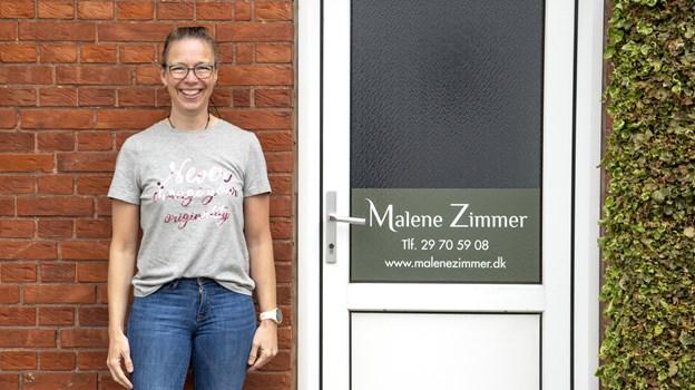Malene Zimmer holder åbent hus 11. maj fra 11.00 til 14.00. Foto:  Laura Guldhammer