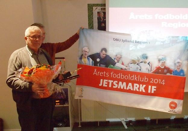 Tilbage i 2014 blev Jetsmark IF årets nordjyske fodboldklub. Nu gælder det årets titel. Privatfoto