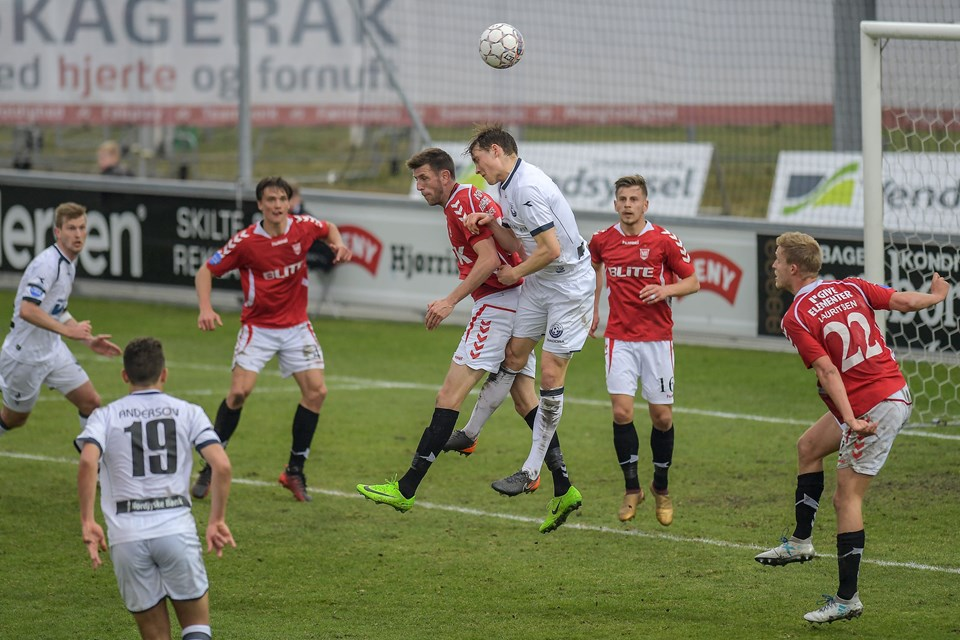 Vendsyssel FF mod Vejle.Foto: Peter Broen