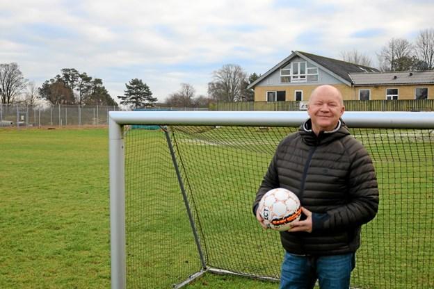 Lyngså B.K. nye træner Mogens Sørensen er klar til at byde såvel gamle som nye spillere velkommen. Foto: Tommy Thomsen Tommy Thomsen