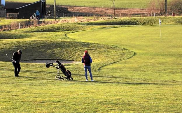 Hobro Golfklub nærmer sig klubbens 10 års jubilæum. Foto: TM & E-Air-view.dk
