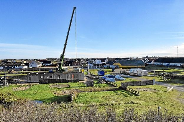 Med moderniseringen af pladsen, regner forpagterparret med en bredere sæson. Foto: Ole Iversen Ole Iversen