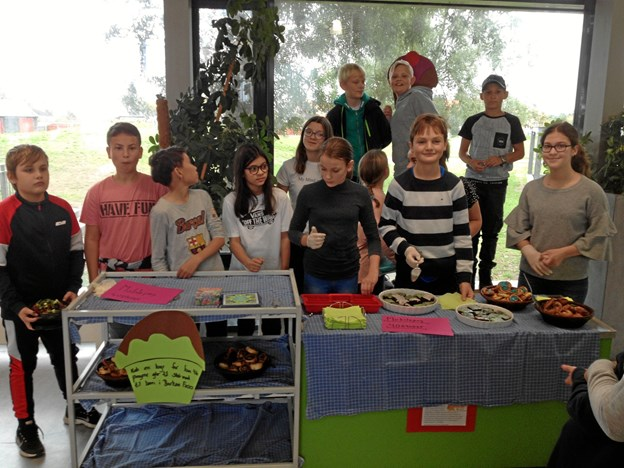 Soroptimisterne i Skagen har valgt at samarbejde med 6. klasse på Skagenskolen.Privatfoto