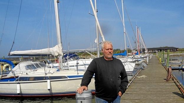 På Havnens Dag kan de besøgende komme ombord på en halv snes lystbåde og motorbåde, fortæller Arne Poulsen, tovholder for projektet.Privatfoto