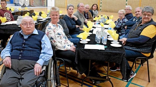Frede Ejstrup, der bor på Vendelbocentret, var kommet til dialogmødet sammen med personale, pårørende og Vendelbocentrets frivillige. Foto: Niels Helver