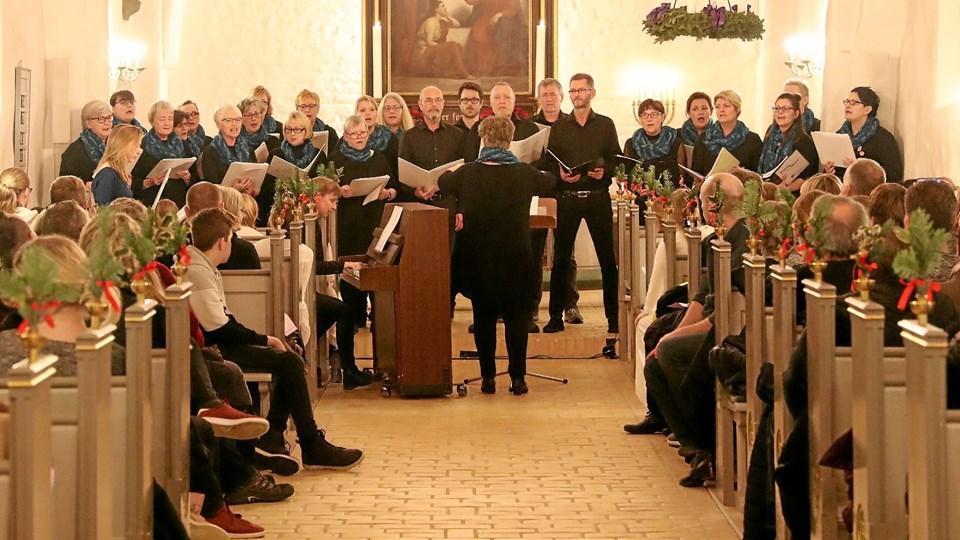 Den 12. december er der julekoncert i Vester Hassing. Foto: Allan Mortensen