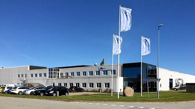 ME i Frederikshavn har drønende travlt lige nu - antallet af medarbejdere er øget fra 60 til 150