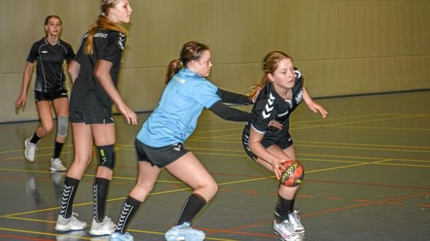 Intensiv træning minder om, at man ikke længere spiller bare for sjov, men for at vinde. Foto: Mogens Lynge Mogens Lynge