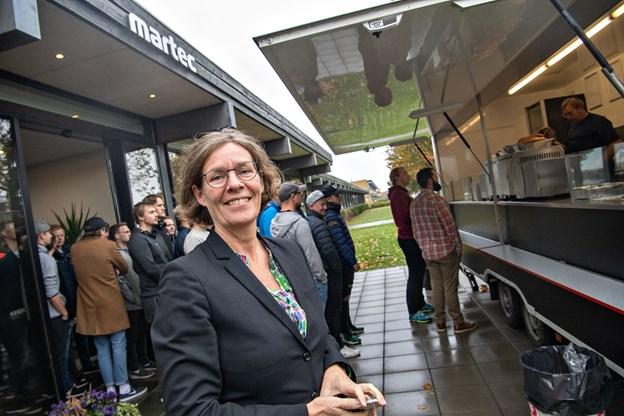 Pia Ankerstjerne: Det er en stor forløsning, at vi endelig kom over mållinjen. Foto: Kim Dahl Hansen
