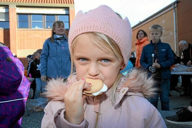 Skumfiduser og kiks er altid populært. Foto: Flemming Dahl Jensen