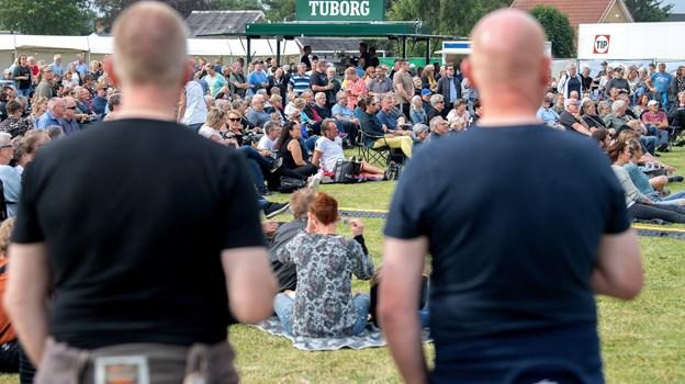 Sommerkoncert i Øster Hurup trak mange publikummer.
