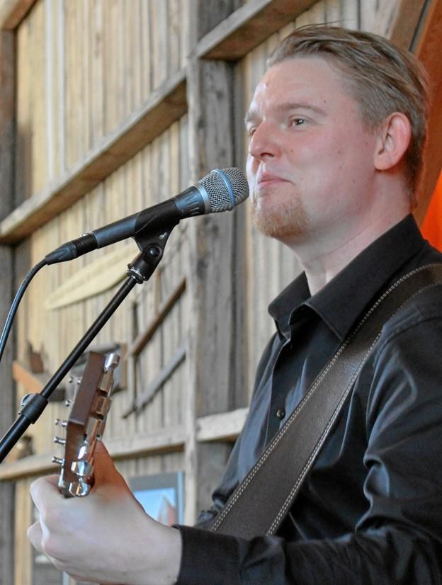 Thomas Pedersen gav publikum en stor oplevelse i Kassehuset for to år siden. 4. januar er han tilbage som solist. Privatfoto.