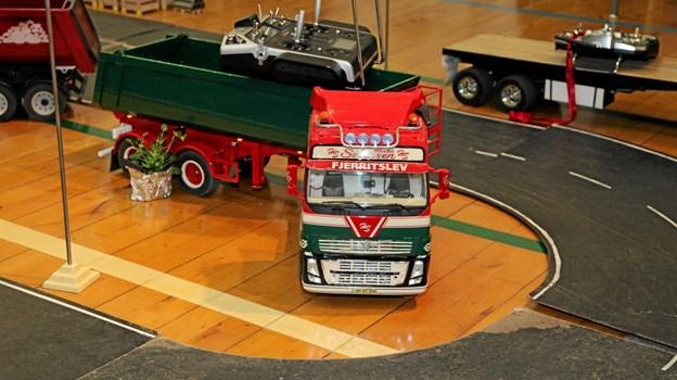Fjernstyrede lastbiler var et stort hit. Foto: Flemming Dahl Jensen Flemming Dahl Jensen